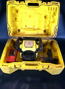 Leica Rugby 610 Rotary Self Leveling Rotating Laser W Ld 400 Detector