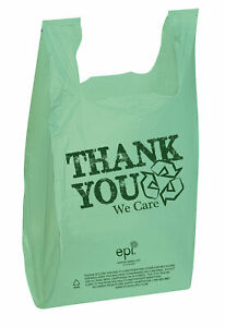 Thank You Bags epi Plastic T shirt Bags Case Of 500