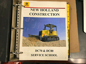 Oem New Holland Service Training Manual Dc70 Dc80 Dozer