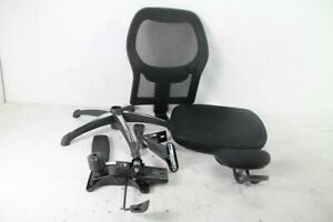 Walker Fully Adjustable Mesh Office Computer Chair W Adjustable Lumbar Support