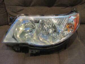 2009 2010 11 2012 2013 Subaru Forester Halogen Drivers left Side Headlight Oem