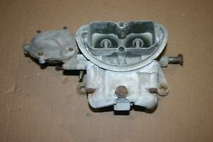 1969 Corvette 3659 Dated 891 Holley Tri power End Carb