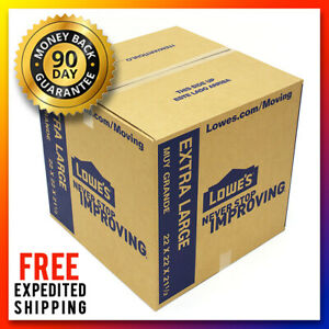 10 New Extra Large Xl Moving Storage Shipping Packing Postage Boxes 22x22x21 5