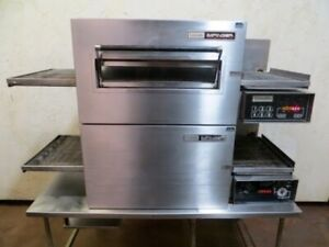 Lincoln Impinger 1132 Electric 208v Conveyor Double Stack Pizza Oven