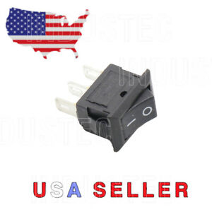 3 Pin 2 Position 10a 15 21mm Maintained Small Rocker Switch Spdt 12v 24v