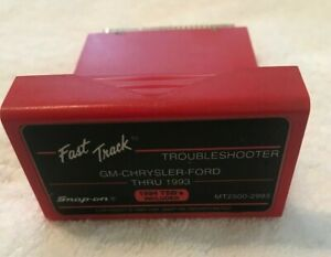 Snap On Mt2500 2993 Cartridge Fast Track Troubleshooter Gm Chrysler Ford