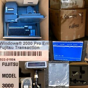 New Old Stock Fujitsu 3000xl Complete Retail Pos System