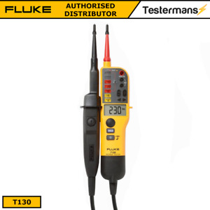 Fluke T130 Voltage Continuity Tester Lcd Display Switchable