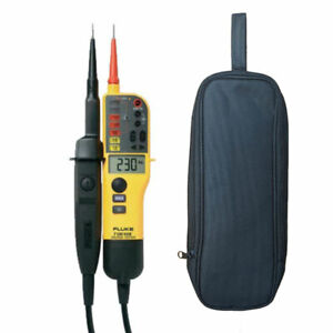 Fluke T130 Voltage Continuity Tester Lcd Display Switchable 2019 Edition
