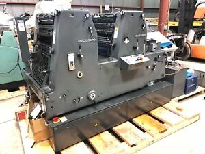 Printing Press 1997 Heidelberg Gto 52 2 Color