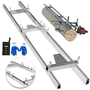 Chainsaw rail Mill Guide System 9ft 1 5m 2 Reinforce 4x2 5ft Kit Combination