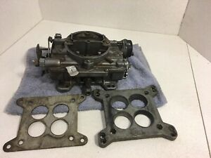 Carter Afb 4bbl Carburetor Square Bore 1485 1455 Rebuilt Tags