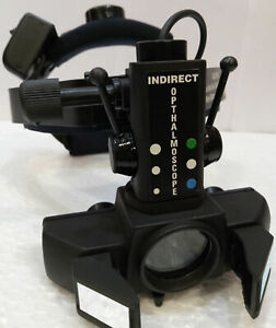 Indirect Binocular Led Ophthalmoscope 20 D Lens Rechargeable Ophthalmologist A