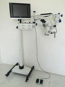 5 Step Dental Surgical Microscope Motorized With Accessories
