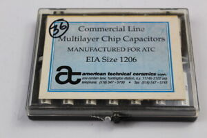 Atc Multilayer Chip Capacitors Kit Eia Size 1206