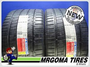 2 New 335 30 20 Michelin Pilot Super Sport Xl M S Tires Free Mounting 3353020