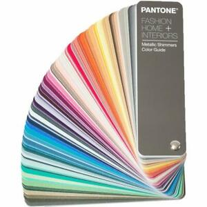 Pantone Fashion Home Metallic Shimmers Guide Fhip310 new