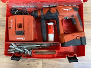 Hilti Te2 a 24v Li ion Cordless Rotary Hammer Drill Battery Charger W Bits