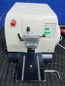 Leica Rm2255 Microtome Without Blade Holder