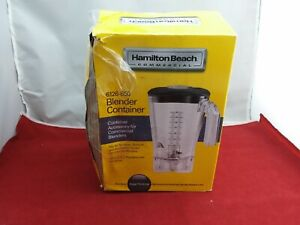 Hamilton Beach Commercial Blender Polycarbonate Container 64 Oz 6126 650 used