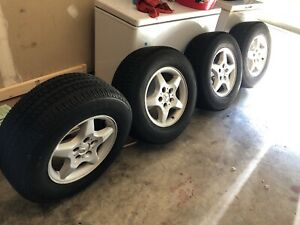 4tires And Rims For Mercedese Ml 320 Or 350 Size 255 65r16