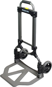 Magna Cart Ideal 150 Lb Capacity Steel Folding Hand Truck Moving Boxes Luggage