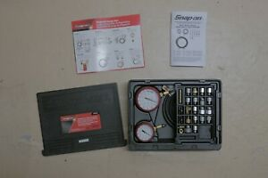 Snap On Eepv508 New Engine And Trans Pressure Gauge Set