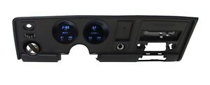 Dakota Digital Dash 69 Pontiac Firebird Full 6 Gauge Cluster System Vfd3 69p fir