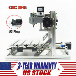 Cnc 3018 Router Kit With Grbl Control 3 Axis Plastic Pvc Carving Milling Machine