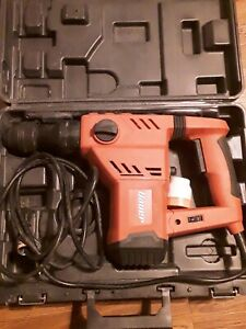Bauer 1641e b Rotary Hammer Kit 1 1 8 Sds Variable Speed Pro