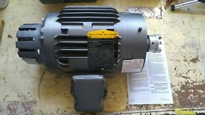 Baldor Reliance Inverter Drive Motor Idnm3581t 1hp 230 460 V Rpm 1745 Max 6000