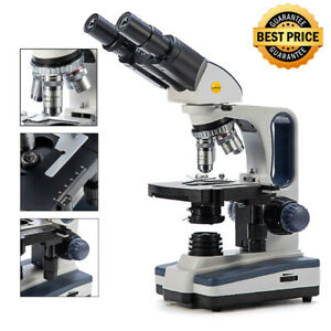 Swift 40x 2500x Professional Binocular Vet Clinical Lab Researcher Microscope Us