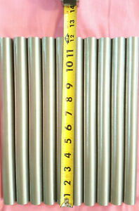 416 Stainless Steel 1 Solid Round Rod 12 Long 10 Pieces 1 od New Lathe Stock
