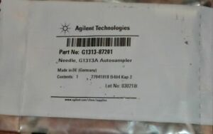 New In Box Agilent Autosampler Needle G1313a G1313 87201