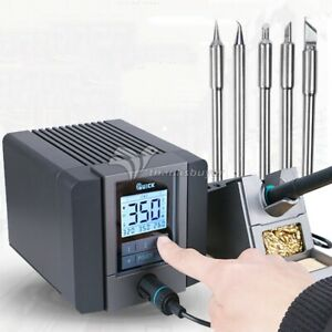 120w Lead free Smd Soldering Rework Station With Soldering Iron Tip Touch Button