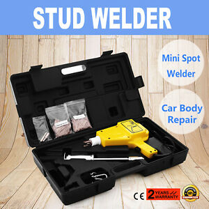 Auto Shot Stud Auto Body Dent Puller Welder Slide Hammer Starter Repair Kit