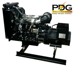30 Kw Single Or Three Phase Perkins Diesel Generator With Dse3110 Controller