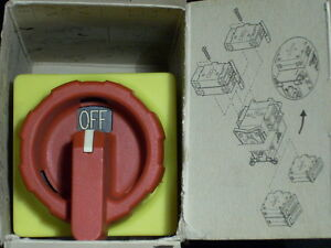 New Schneider Square D 9421v2 40a 3 Pole Rotary Disconnect Switch Locks Germany