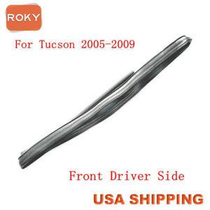 Glass Run Channel Sweep Weatherstrip Front Left For Hyundai Tucson 2005 2009