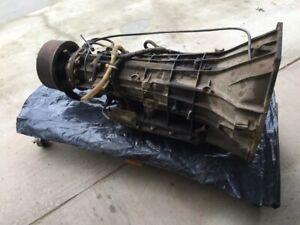 Ford E4od Transmission With Parking Brake 2wd Ford 460