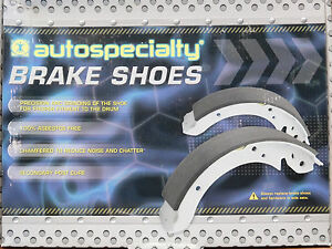Brand New Autospecialty Rear Brake Shoes B744 744 Fits 99 01 Odyssey