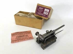 Vintage 1940s Lufkin No 521a Universal Surface Gage 4 Spindle Original Box Usa