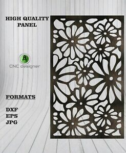 Dxf cdr Of Plasma Laser And Router Cut cnc Vector Panel Art 109
