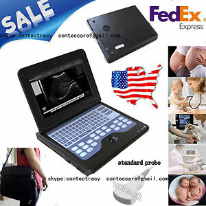 Ce Portable Laptop B ultrasound Scanner notebook convex Cms600p2 10 1 Lcd usa