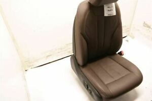 Brown Passenger Rh Front Leather Bucket Seat Electric Fits 14 17 Bmw X5 F15 Oem