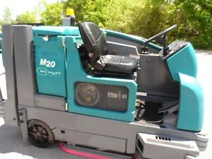 Tennant M20 Sweeper scrubber L p Totally Serviced G m Eng Only 1442hrs
