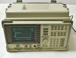 Hp Agilent 8591e Spectrum Analyzer Opt 010 Tracking Generator