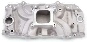 Intake Manifold Torker Ii 2 o Square Bore Single Plane Al Oval Port