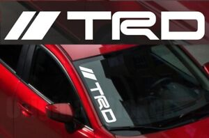 Trd Windshield Car Premium Sticker Vinyl Corolla Camry Supra Etc