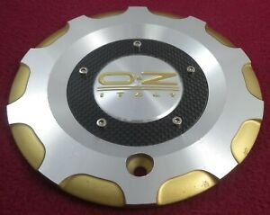 Oz Racing Wheels Silver Gold Custom Wheel Center Cap M 506 Forged